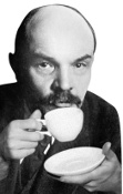 Image result for Lenin and tea
